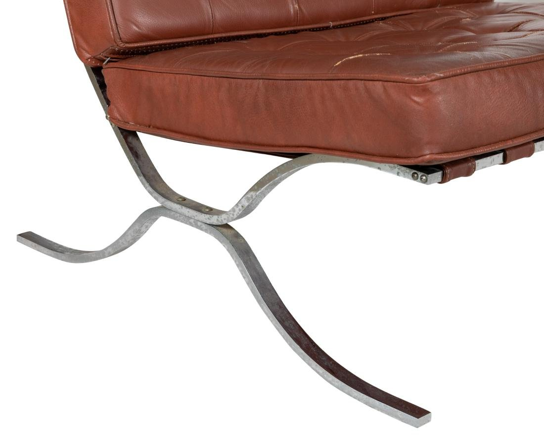 Barcelona Style Lounge Chairs - Pair - 2