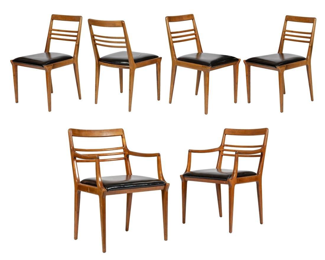 Renzo Rutili Dining Chairs - Six