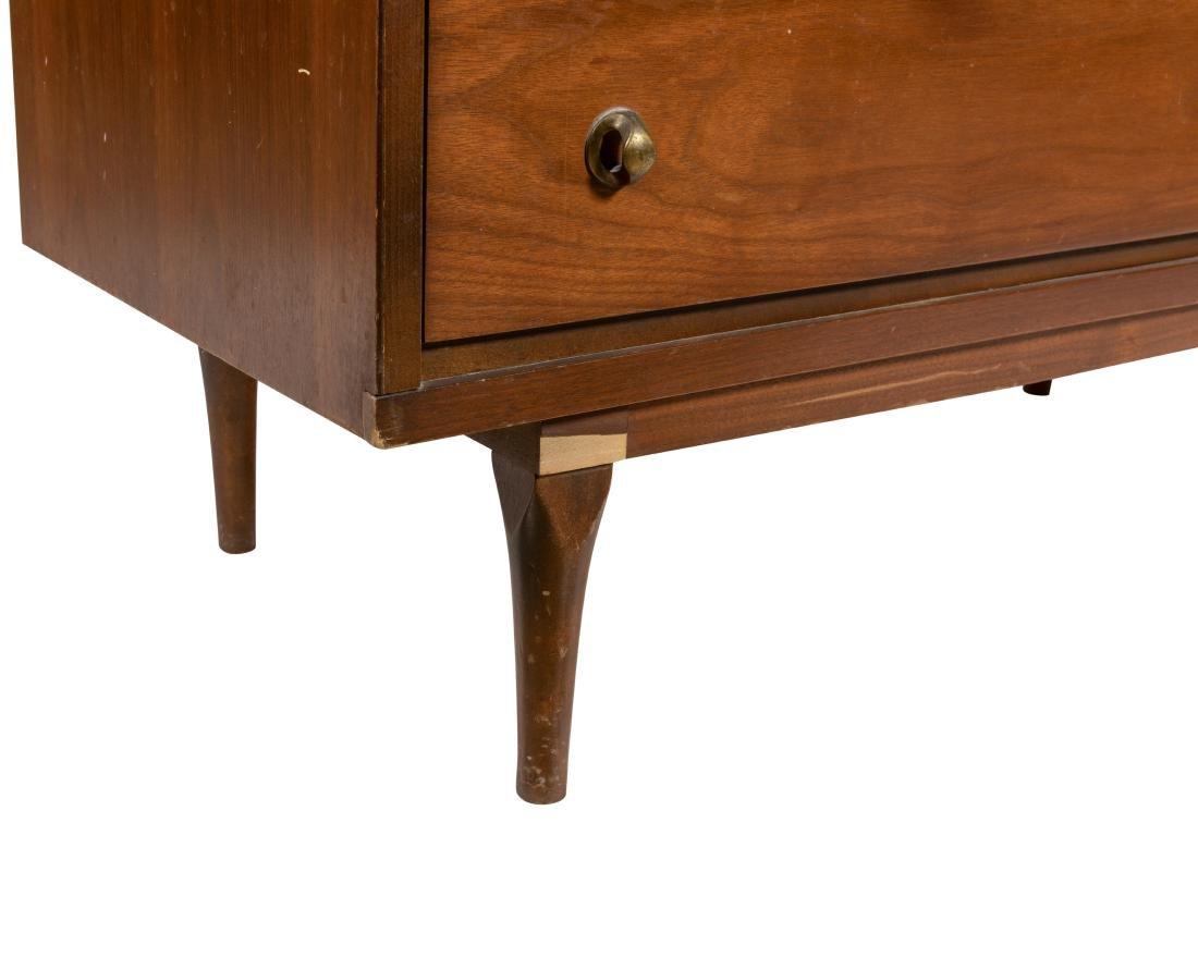 Mid Century Walnut Chest and Dresser - 3