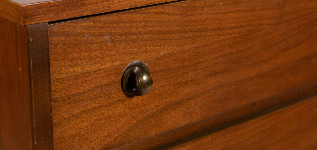 Mid Century Walnut Chest and Dresser - 5