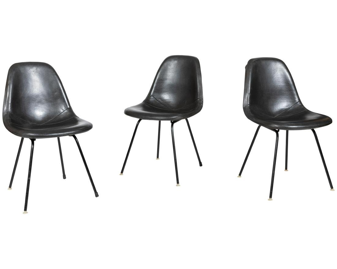 Eames Molded Side Chairs - Four - 2