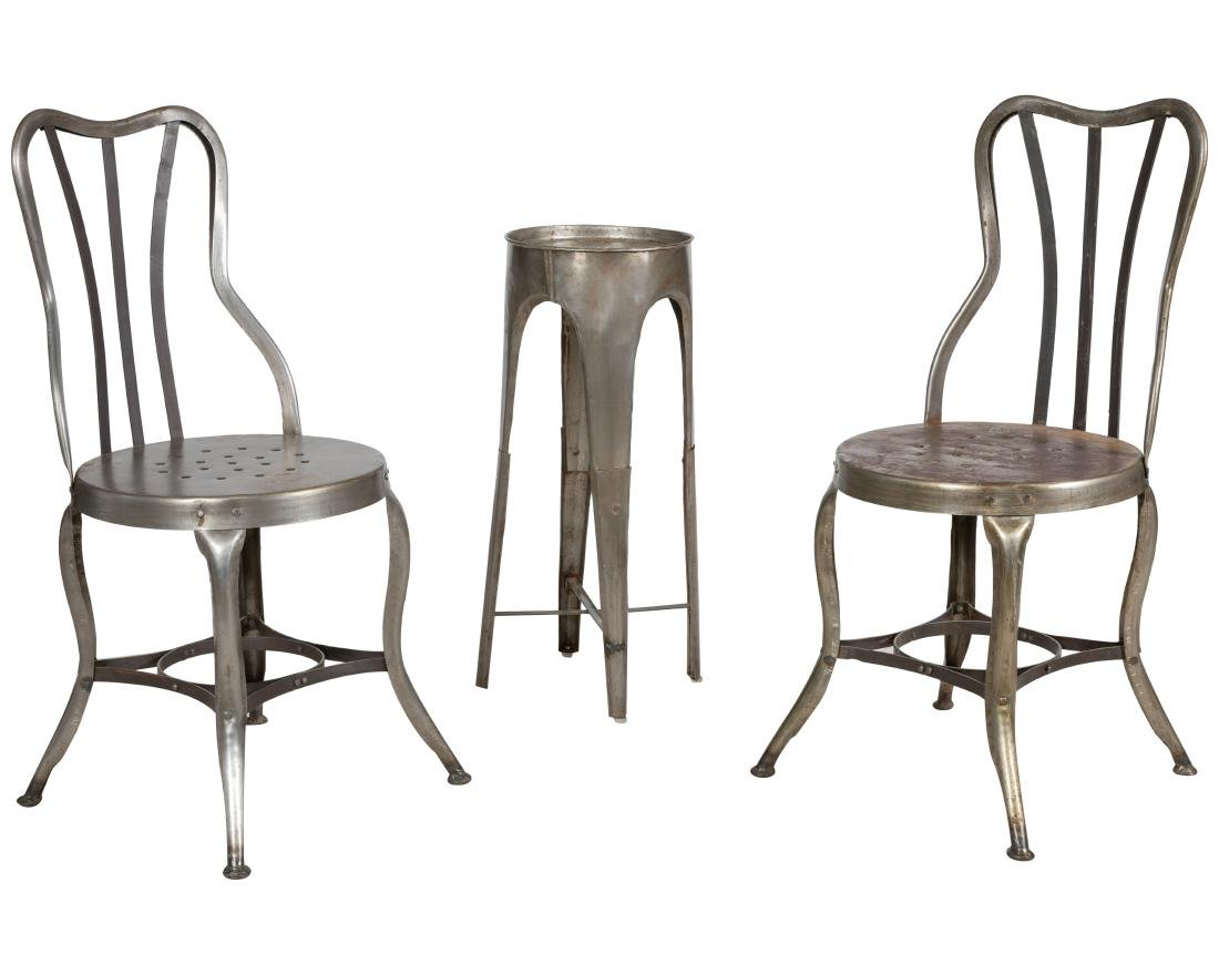 Industrial Chairs and Stand