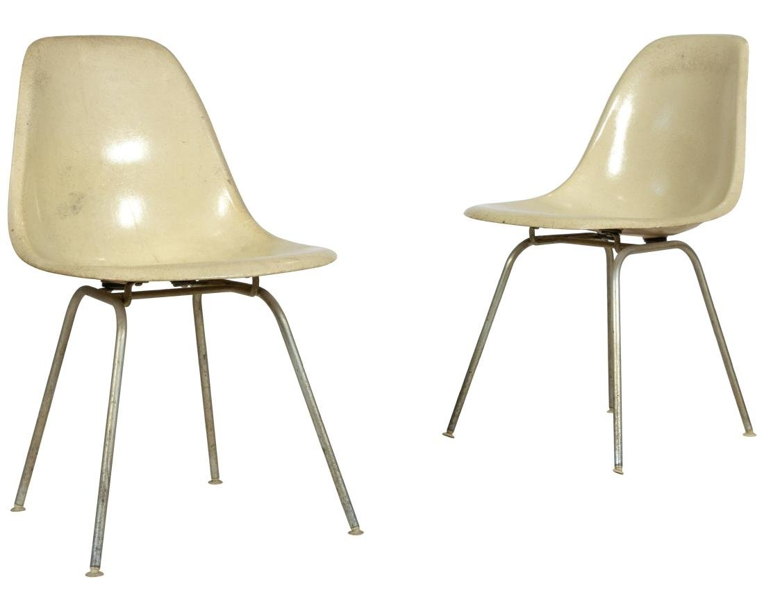 Herman Miller Shell Chairs - Pair