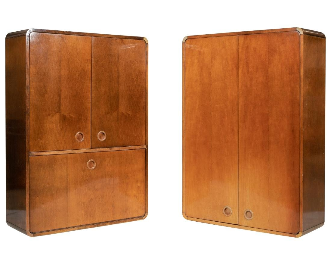 Deco Style Hanging Cabinets