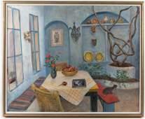 Ann Sonia Medalie  Oil on Canvas  Signed