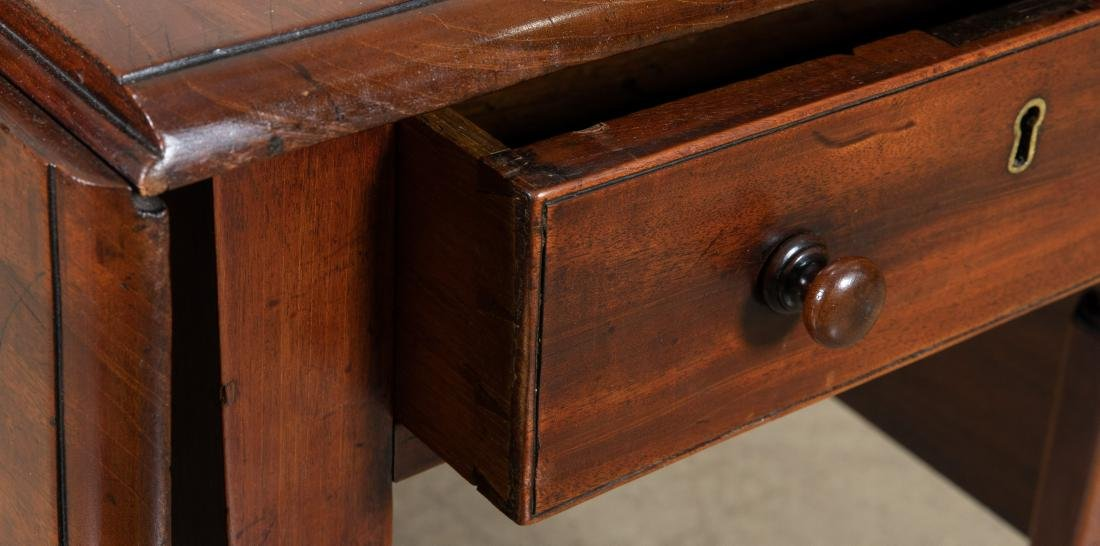 English Antique Drop Leaf Table - 2