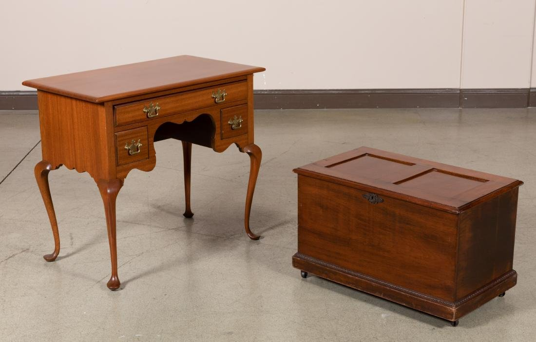 Marriam Hall & Co. Lowboy and Trunk
