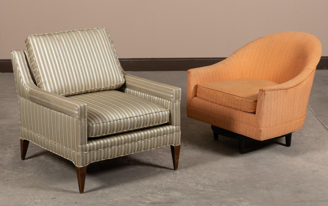 McCobb Style Chair and Swivel Chair