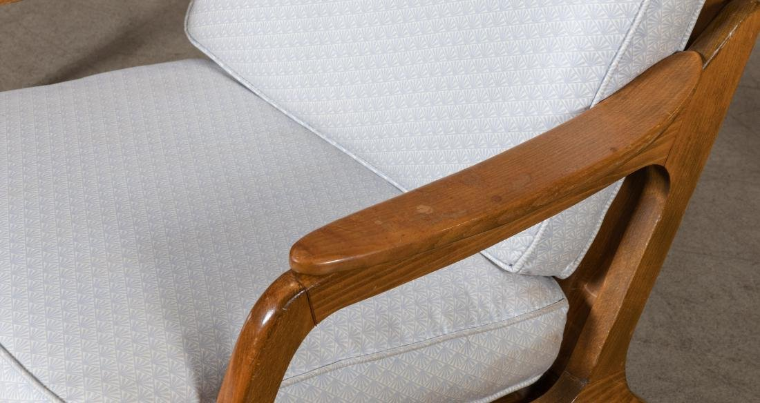 Pair Arm Chairs and Rocker - 2