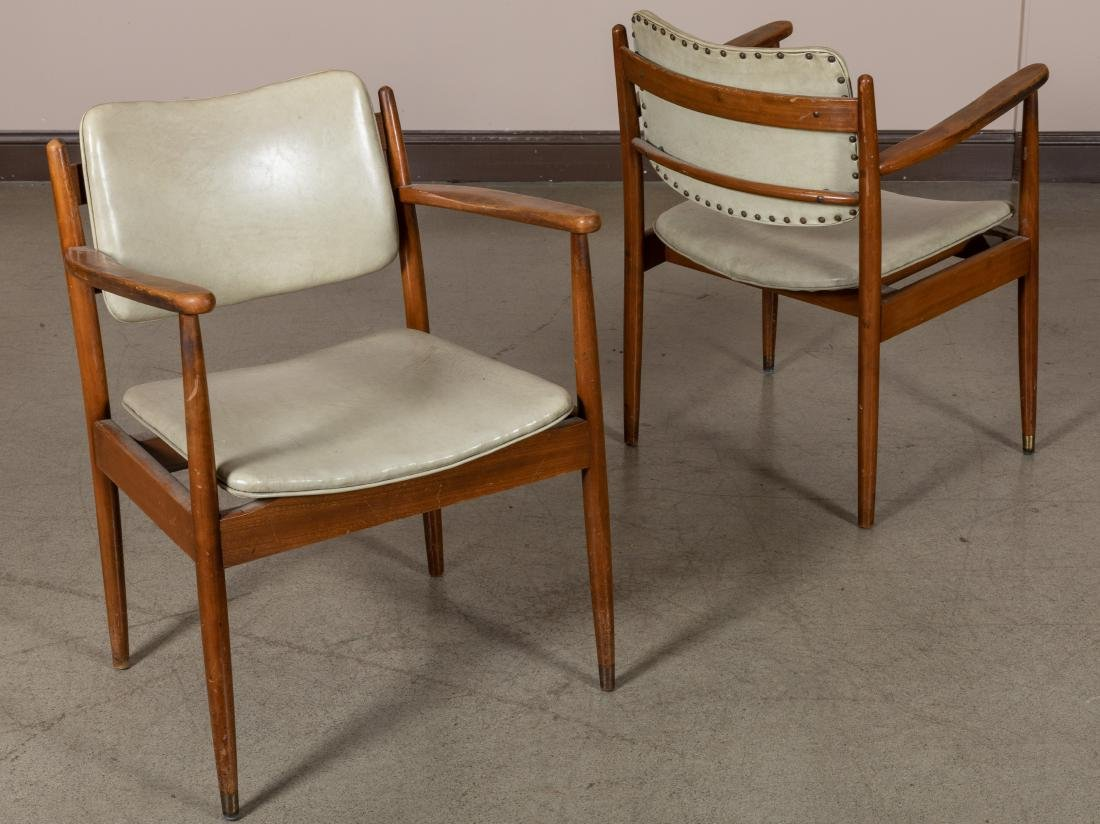Pair Arm Chairs and Rocker - 4