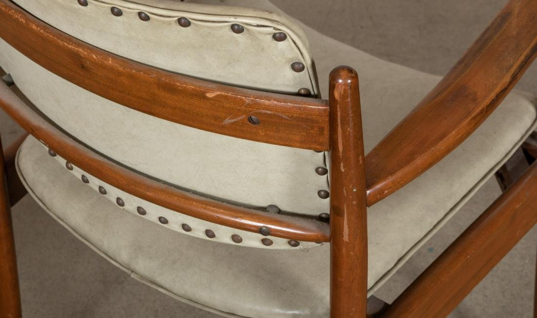 Pair Arm Chairs and Rocker - 5