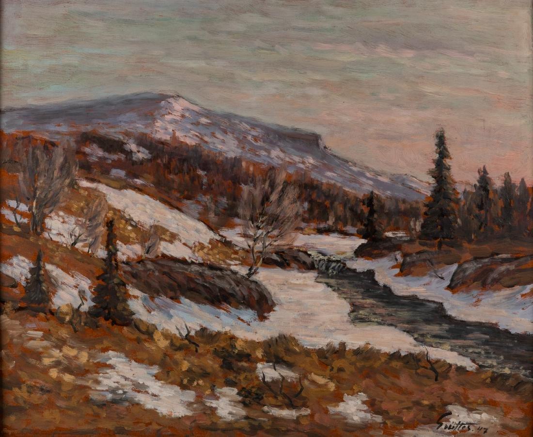 Oil on Board - Landscape - 2