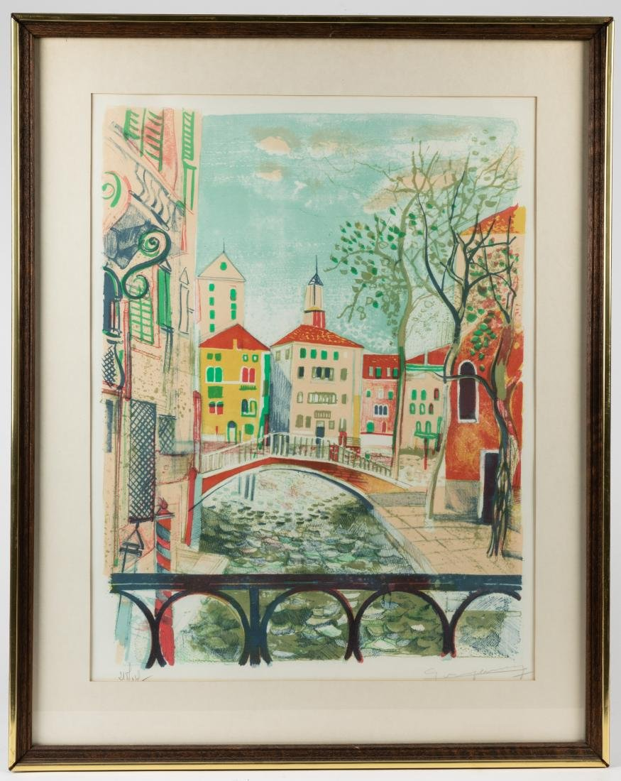 Claude Grosperrin - Signed Lithograph