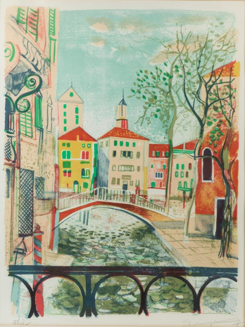 Claude Grosperrin - Signed Lithograph - 2