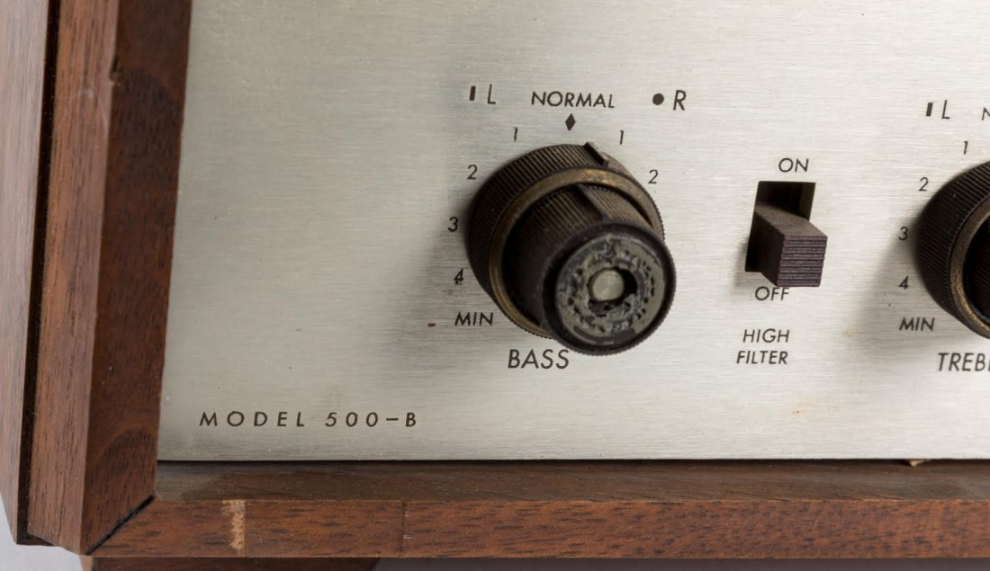 Fisher 500-B Stereo Receiver - 3