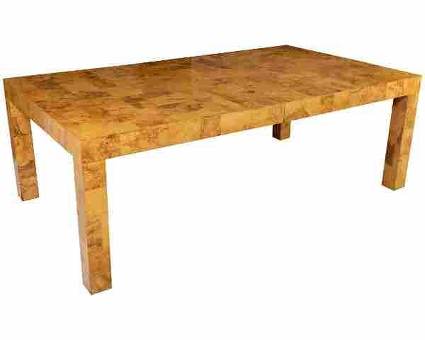 Paul Evans - Patchwork Burl Dining Table