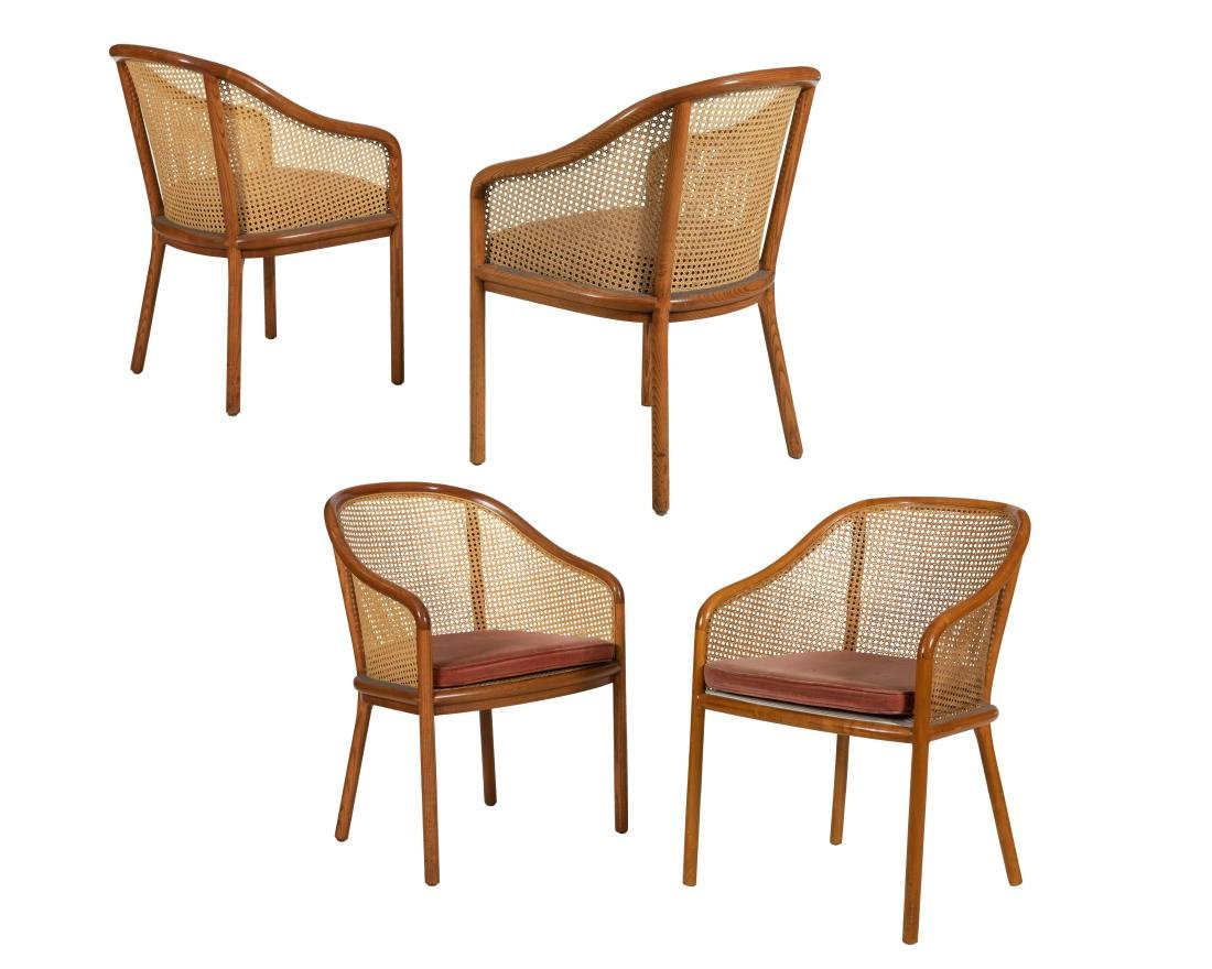 Ward Bennett - Brickel - Bentwood Chairs