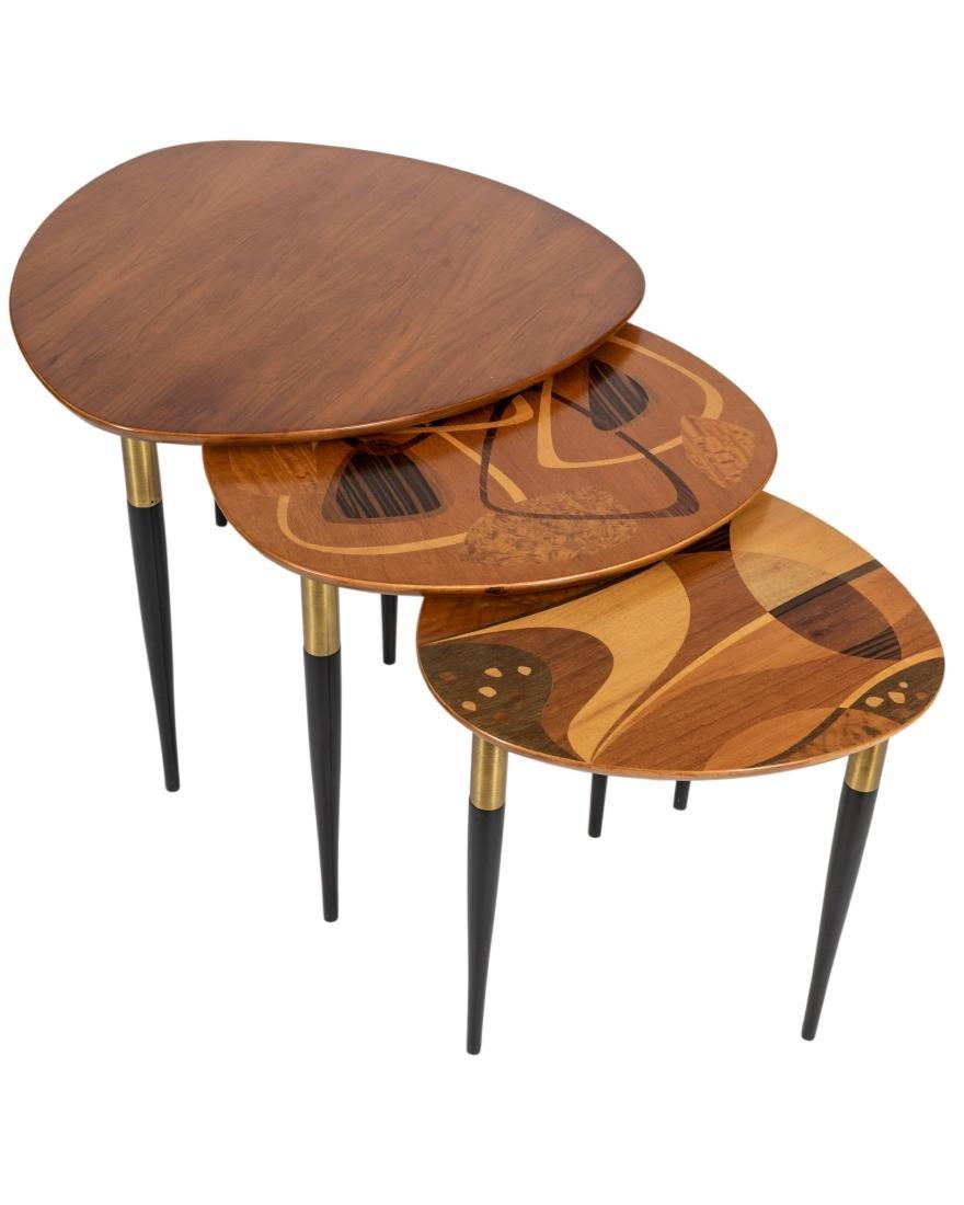 Erno Fabry   Italian   Nest Of Tables