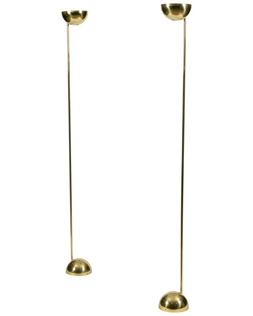 Sonneman - Brass Floor Lamps