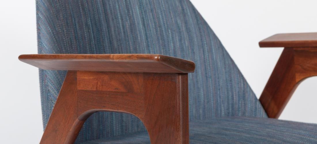 Pair of Lounge Chairs - Manner of Kofod Larsen - 4