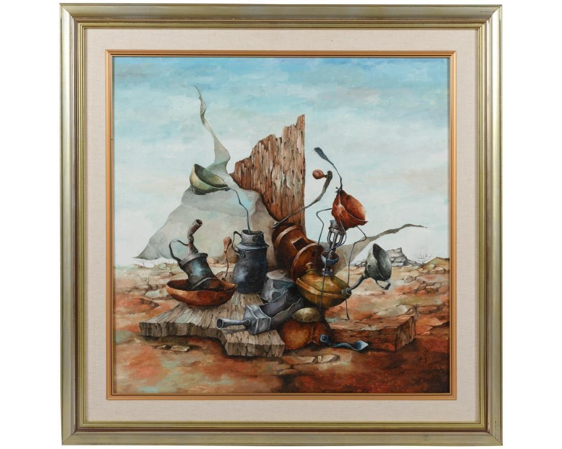 Sami Zilkha - Oil on Canvas - Signed