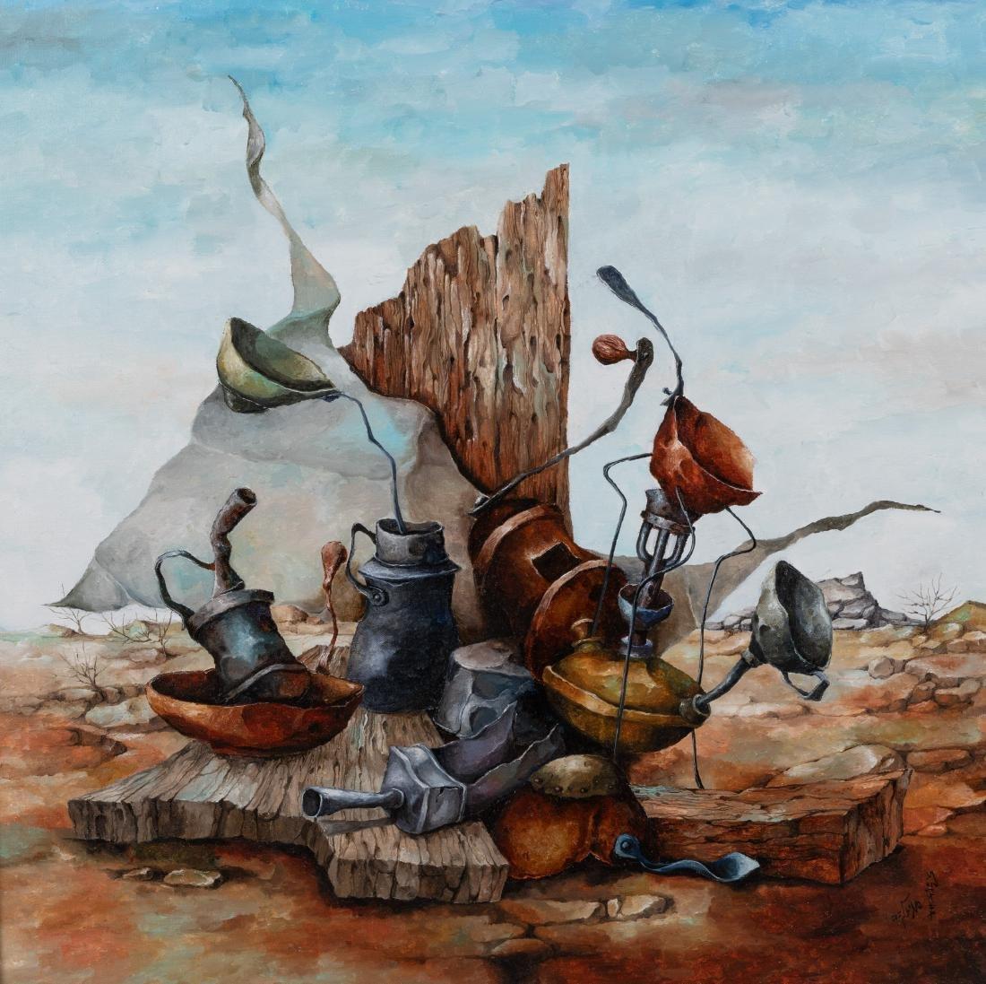 Sami Zilkha - Oil on Canvas - Signed - 2