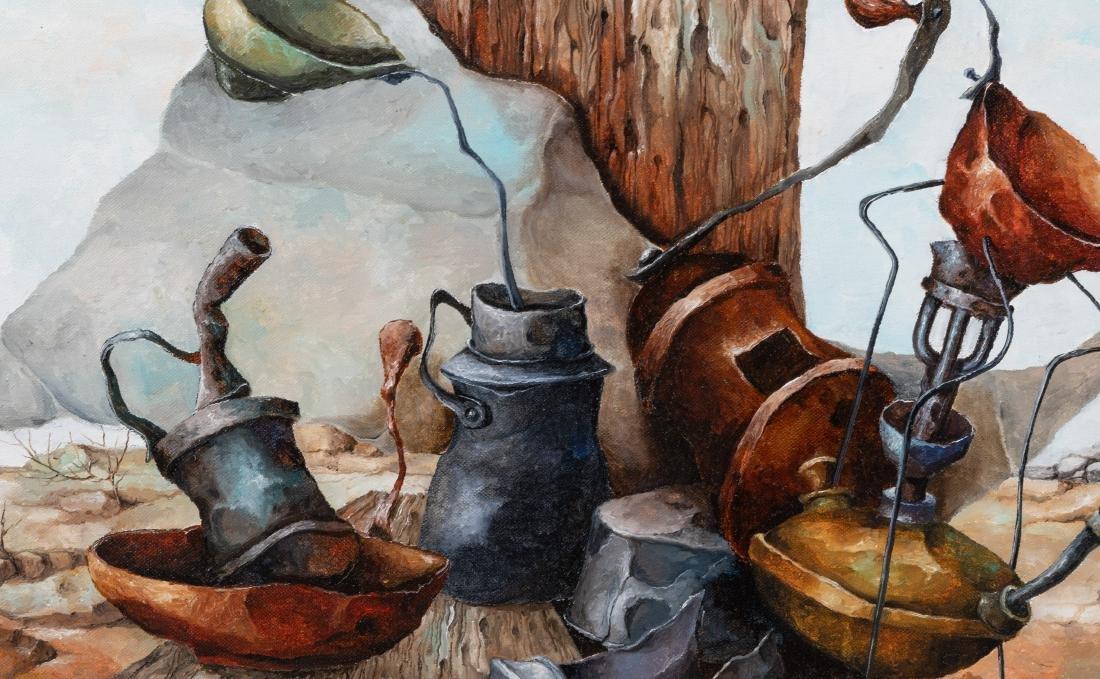 Sami Zilkha - Oil on Canvas - Signed - 3