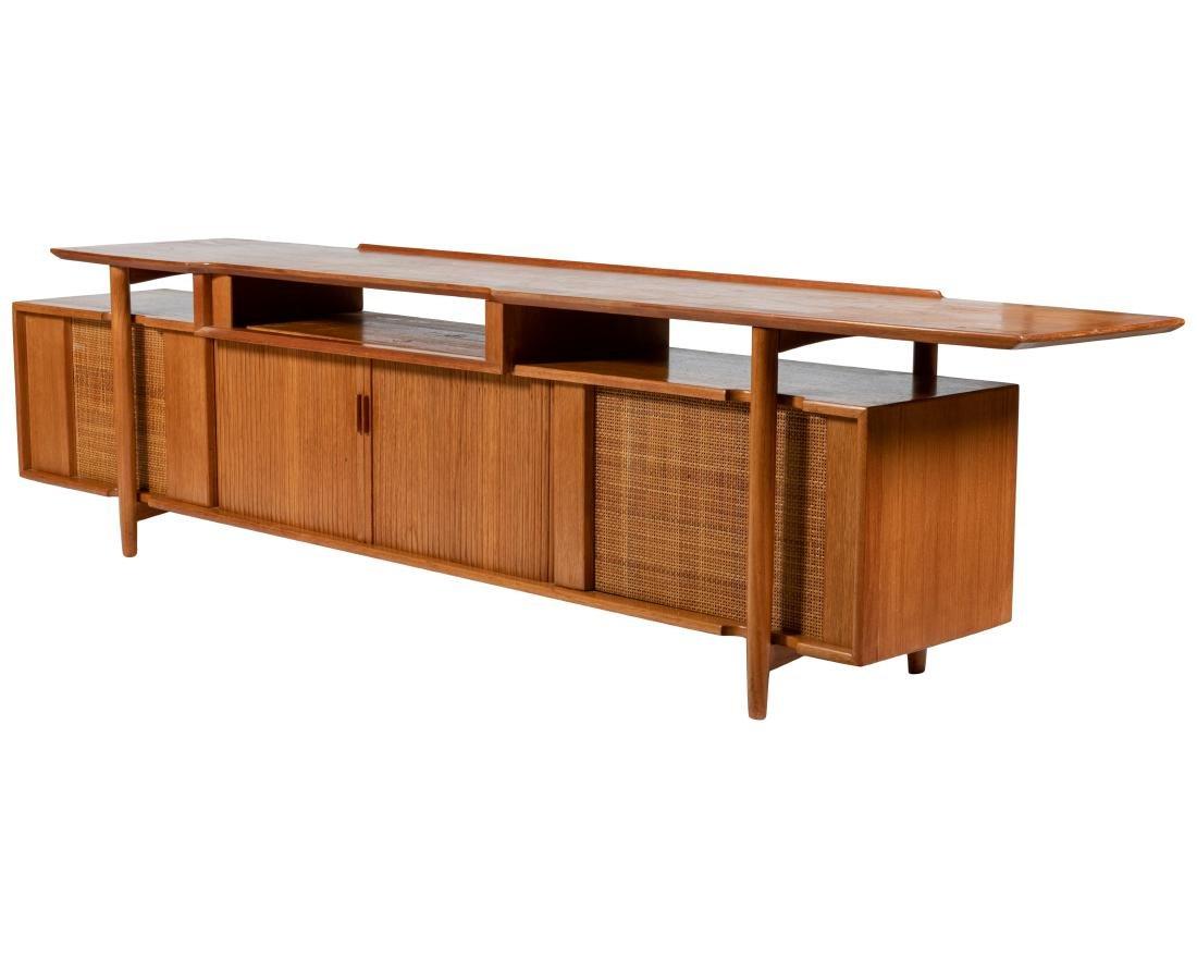 Danish Style Teak Stereo Cabinet
