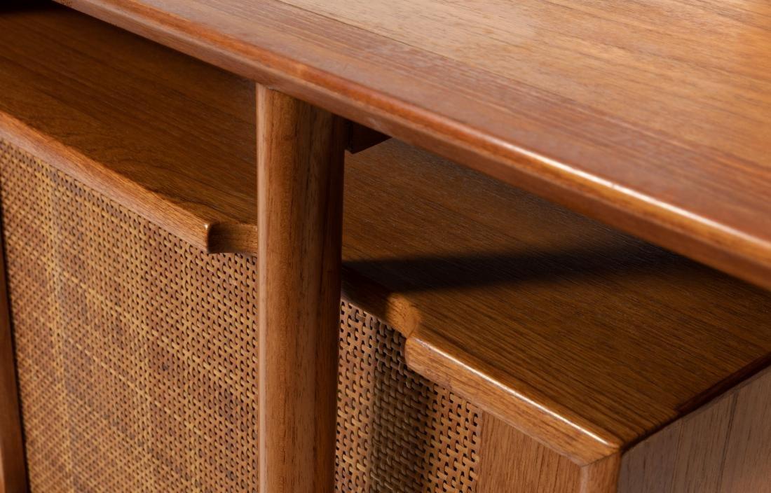 Danish Style Teak Stereo Cabinet - 3
