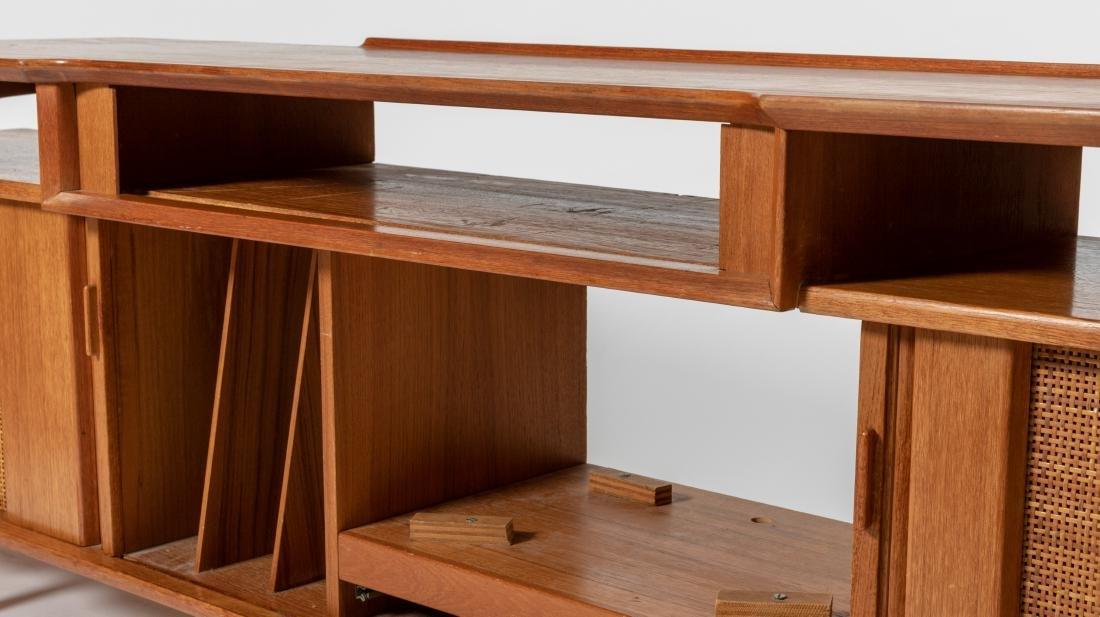 Danish Style Teak Stereo Cabinet - 5