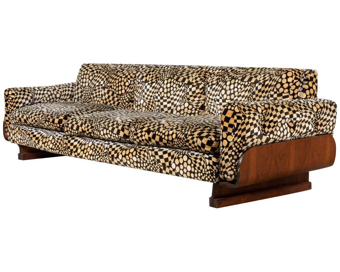 Mid Century Bentwood Sofa