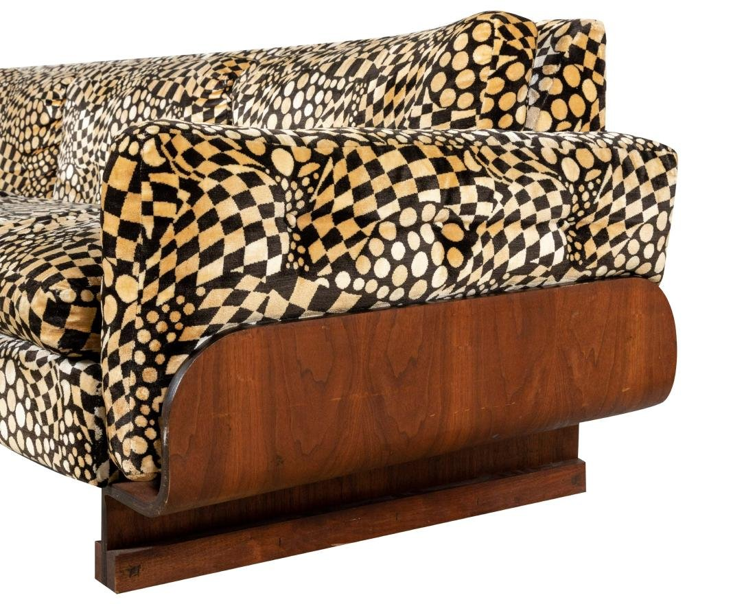 Mid Century Bentwood Sofa - 2