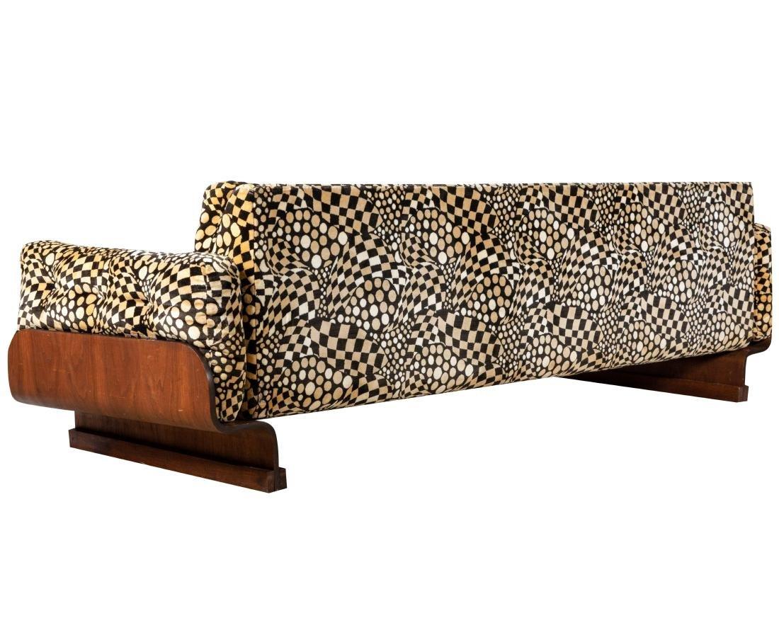 Mid Century Bentwood Sofa - 3