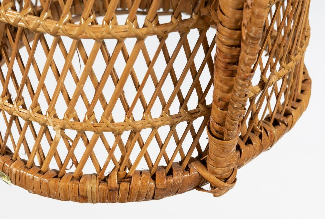Rattan Settee and Pair Chairs - 3