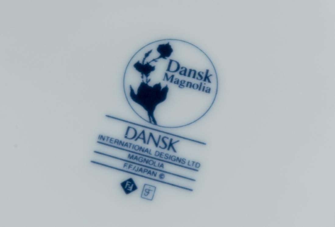 "Dansk ""Magnolia"" Dinnerware - Service for Ten - 3"