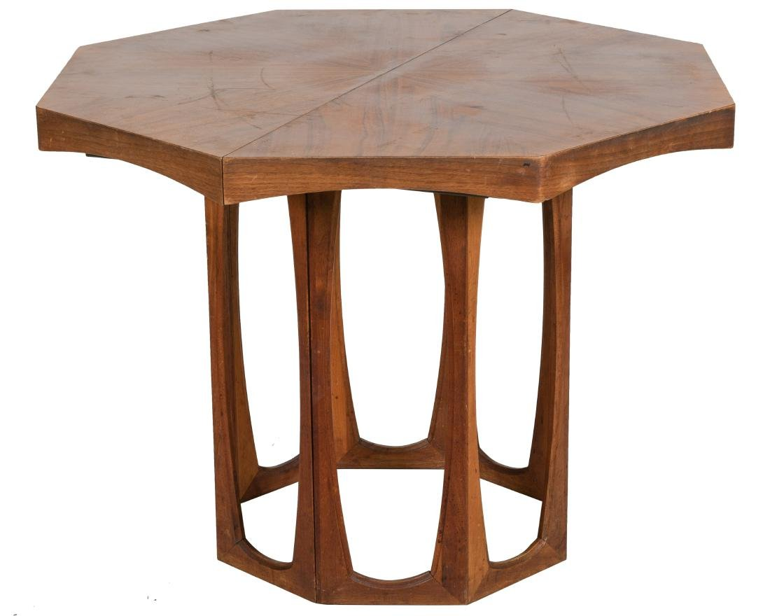 Harvey Probber Style Walnut Dining Table