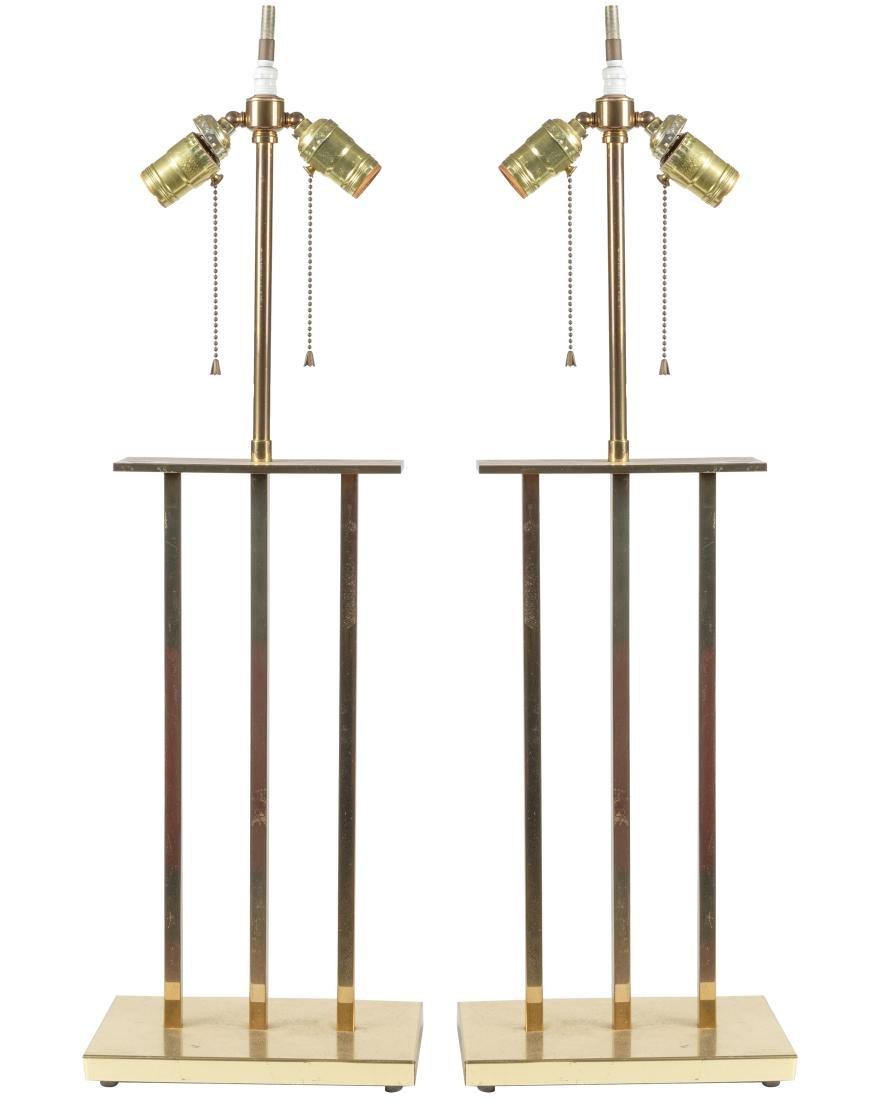 Parzinger Style Lamps - Pair
