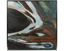 Muriel Harris  Eaux Sauvages  Abstract