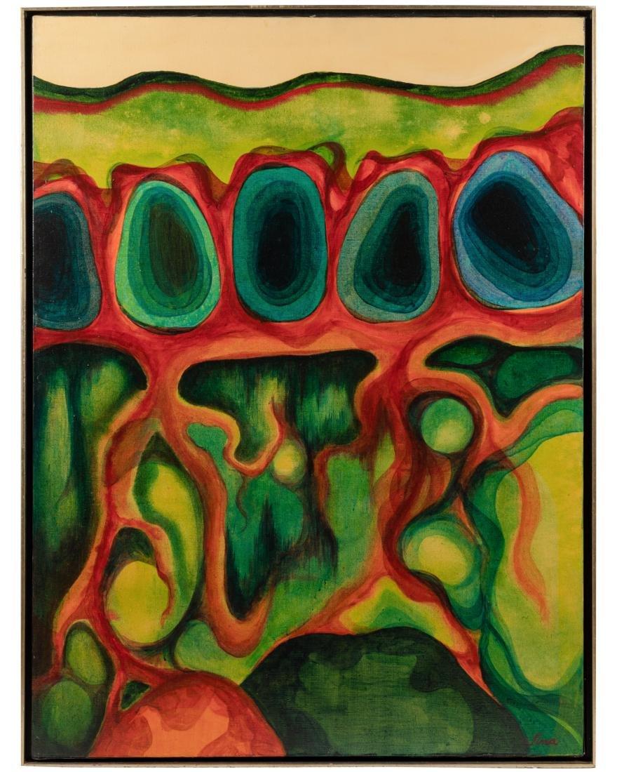 Tina Ryman - Abstract Oil on Canvas