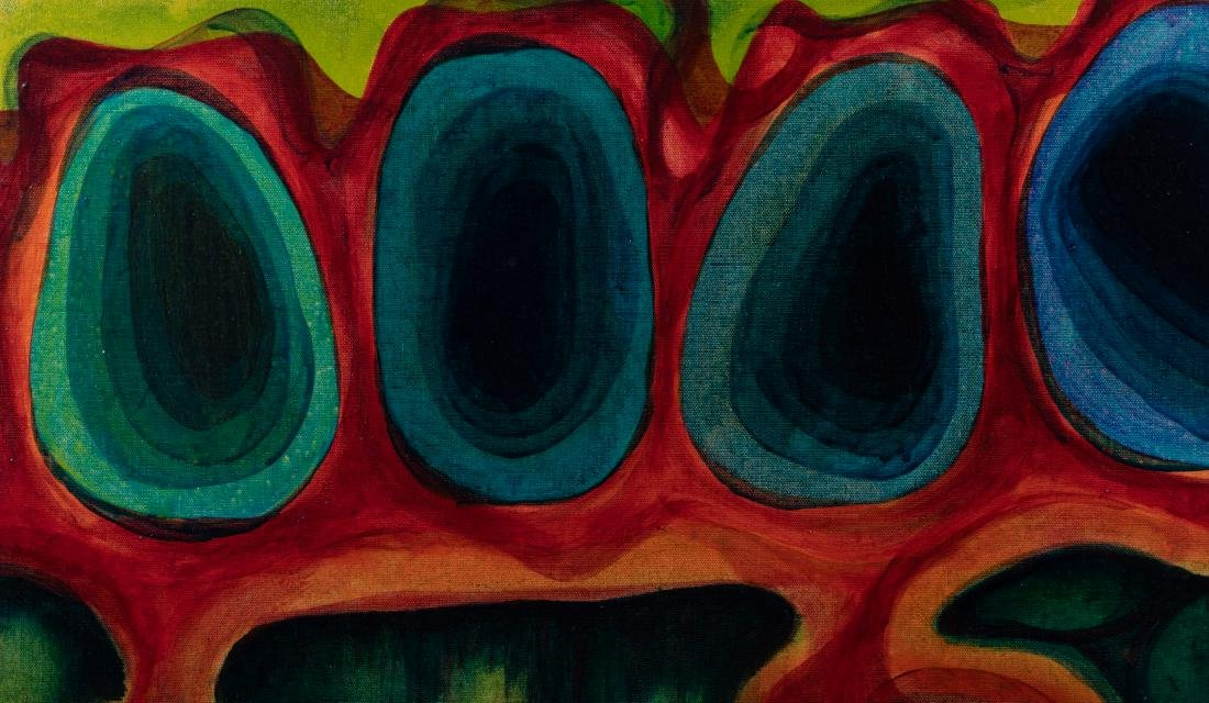 Tina Ryman - Abstract Oil on Canvas - 3
