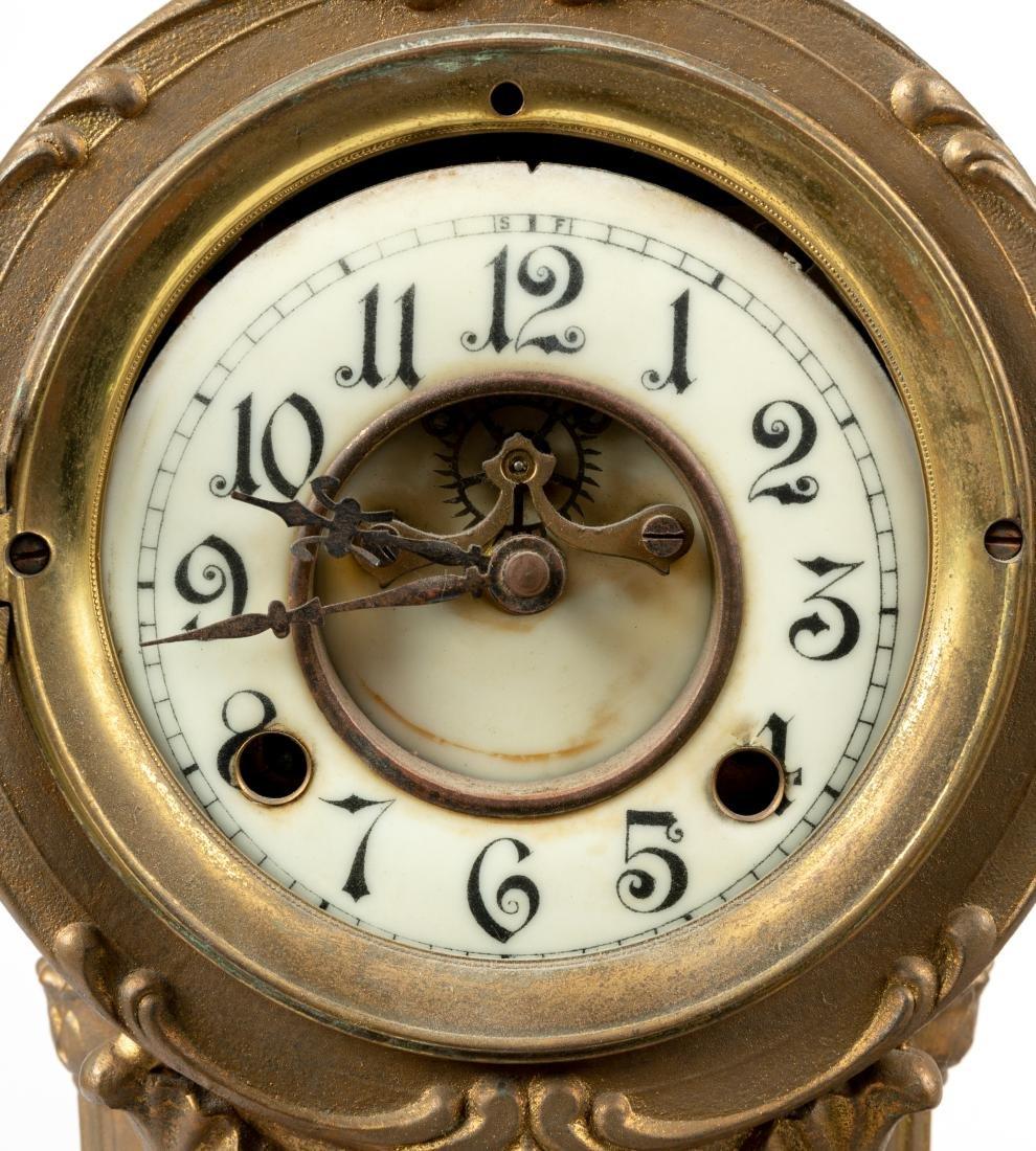 Figural Mantle Clock - 2