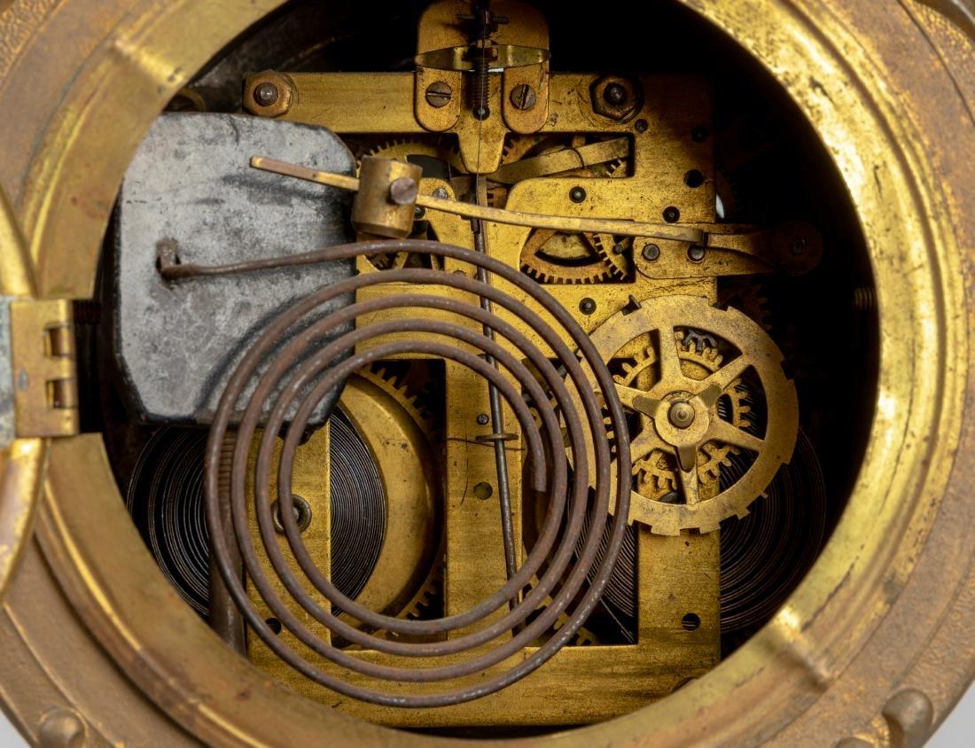 Figural Mantle Clock - 6