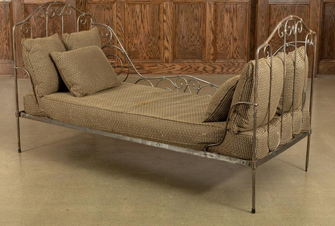 French Wrought Iron Daybed