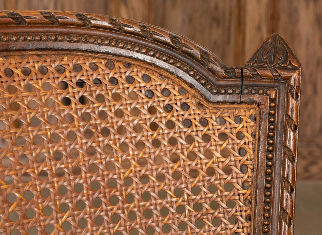 French Cane Side Chairs - 2