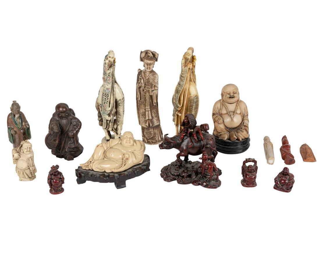 Assorted Oriental Figures