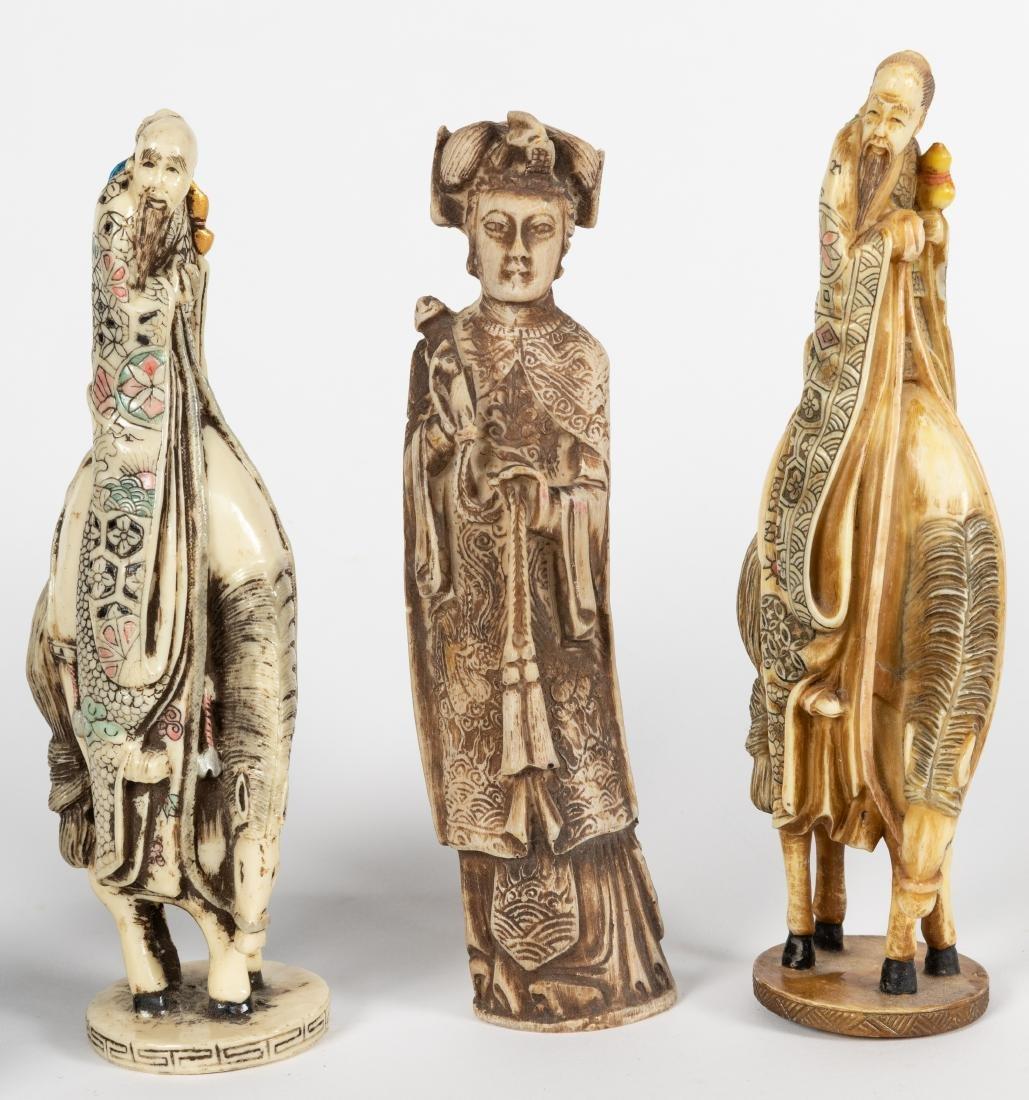 Assorted Oriental Figures - 3