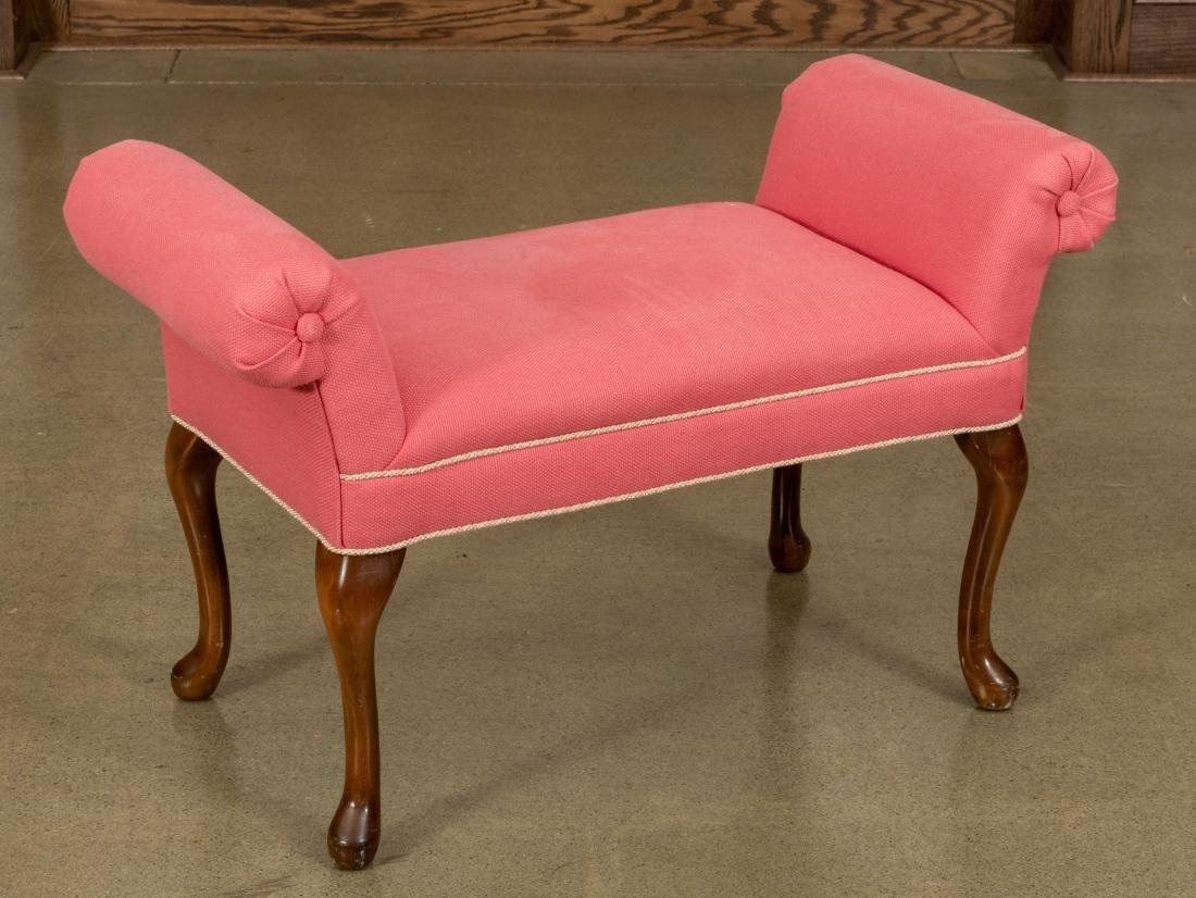 Queen Anne Style Bench