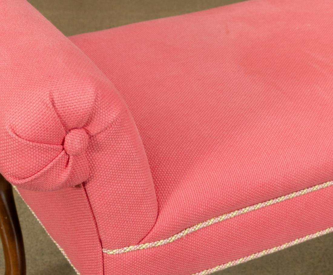 Queen Anne Style Bench - 2