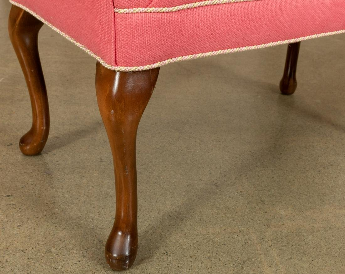Queen Anne Style Bench - 3