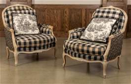 Pair Beacon Hill Bergere Chairs